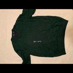 Izod green sweater XLT
